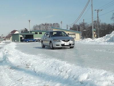 冬道安全運転教室